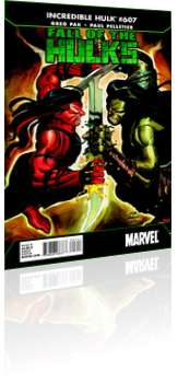 Marvel Comics: Incredible Hulk - Issue # 607 Cover