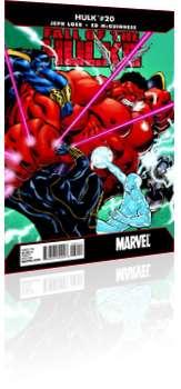 Marvel Comics: Hulk - Issue # 20 Cover