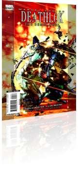 Marvel Comics: Deathlok - Issue # 4 Cover