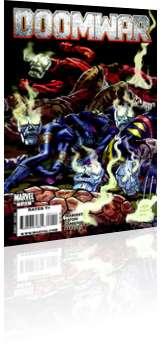 Marvel Comics: Doomwar - Issue # 1 Cover