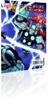 Marvel Comics: Avengers vs Atlas - Issue # 2 Cover