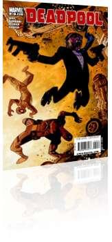 Marvel Comics: Deadpool - Issue # 20 Cover