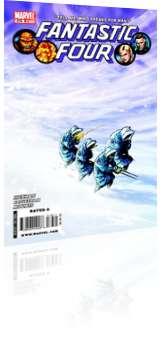 Marvel Comics: Fantastic Four - Issue # 576 Cover