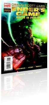 Marvel Comics: Ender's Game: Mazer in Prison - Issue # 1 Cover
