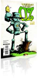 Marvel Comics: Marvelous Land of Oz - Issue # 4 Cover
