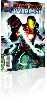 Marvel Comics: Iron Man vs Whiplash - Issue # 4 Cover