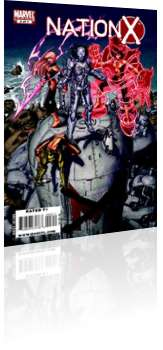 Marvel Comics: Nation X - Issue # 3 Cover