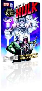 Marvel Comics: Realm of Kings: Son of Hulk - Issue # 2 Cover