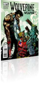 Marvel Comics: Wolverine: Weapon X - Issue # 11 Cover