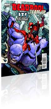 Marvel Comics: Deadpool Team-Up - Issue # 895 Cover