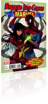 Marvel Comics: Breaking into Comics the Marvel Way - Issue # 1 Cover