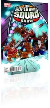 Marvel Comics: Marvel Super Hero Squad - Issue # 3 Cover