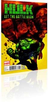 Marvel Comics: Hulk: Let the Battle Begin - Issue # 1 Cover