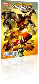 Marvel Comics: Lockjaw and the Pet Avengers Unleashed - Issue # 1 Cover