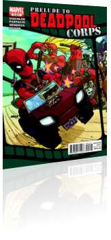 Marvel Comics: Prelude to Deadpool Corps - Issue # 2 Cover