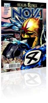 Marvel Comics: Nova - Issue # 35 Cover