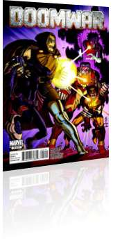 Marvel Comics: Doomwar - Issue # 2 Cover