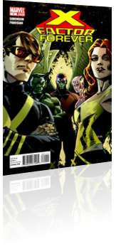 Marvel Comics: X-Factor Forever - Issue # 1 Cover