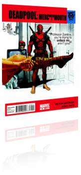 Marvel Comics: Deadpool: Merc with a Mouth - Issue # 9 Cover