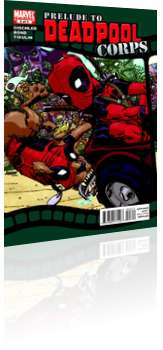 Marvel Comics: Prelude to Deadpool Corps - Issue # 3 Cover