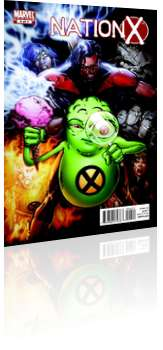 Marvel Comics: Nation X - Issue # 4 Cover