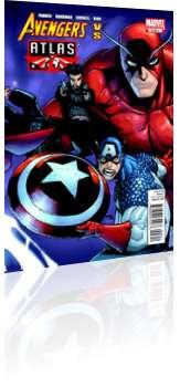 Marvel Comics: Avengers vs Atlas - Issue # 3 Cover