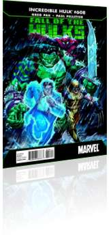 Marvel Comics: Incredible Hulk - Issue # 608 Cover