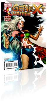 Marvel Comics: Genext: United - Issue # 5 Cover