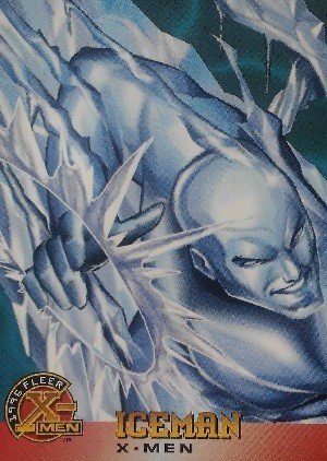 Fleer 1996 Fleer X-Men Base Card 7 Iceman