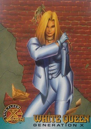 Fleer 1996 Fleer X-Men Base Card 38 White Queen