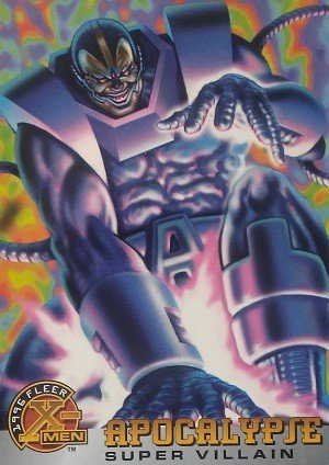 Fleer 1996 Fleer X-Men Base Card 59 Apocalypse