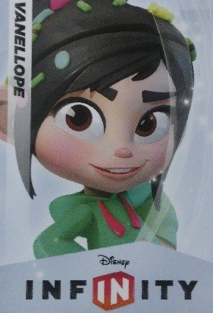 SkyBox Disney Infinity 1.0 Base Card  Vanellope