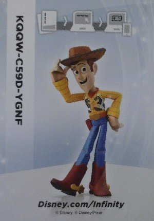 SkyBox Disney Infinity 1.0 Base Card  Woody