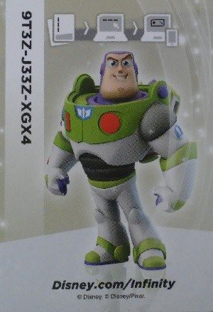 SkyBox Disney Infinity 1.0 Infinite Crystal Card  Buzz Lightyear