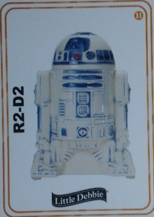 Little Debbie Rancho Obi-Wan Base Card 11 R2-D2
