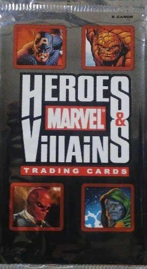 Rittenhouse Archives Marvel Heroes and Villains   Unopened Pack