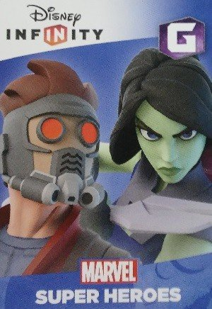 SkyBox Disney Infinity 2.0 Play Sets  Guardians of the Galaxy (Star-Lord/Gamora)