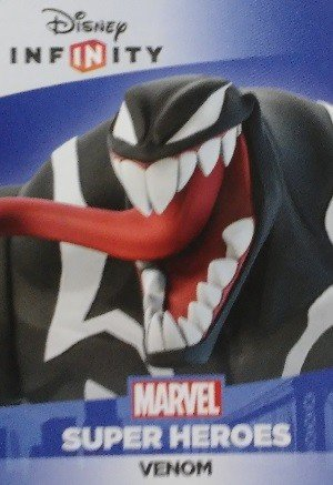 SkyBox Disney Infinity 2.0 Base Card  Venom (No Logo)