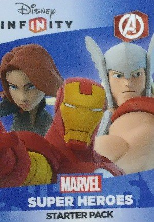SkyBox Disney Infinity 2.0 Play Sets  The Avengers (Logo)(Black Widow/Thor/Iron Man)