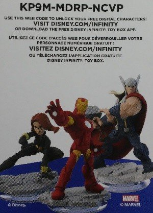 SkyBox Disney Infinity 2.0 Play Sets  The Avengers (No Logo)(Black Widow/Thor/Iron Man)