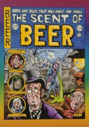 Active Marketing Defective Comics Base Card 14 The Scent of Beer No. 12