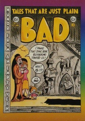 Active Marketing Defective Comics Base Card 15 Tales That Are Just Plain Bad No. 1