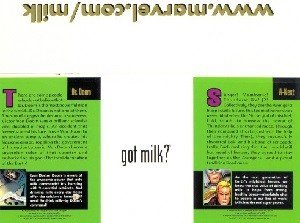 National Fluid Milk Processor Promotion Board Marvel