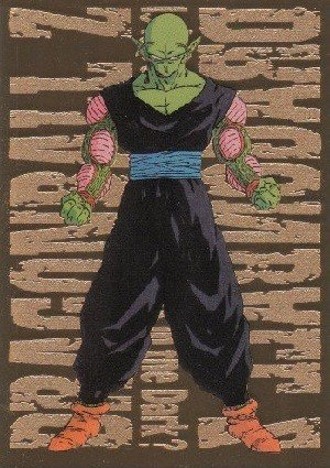 Artbox Dragon Ball Z Trading Cards Series 3 Gold Metallic Card G-7 Piccolo