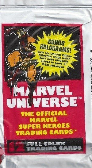 Impel Marvel Universe I   Unopened Wolverine Pack