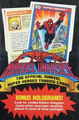 Impel Marvel Universe I   Unopened Box