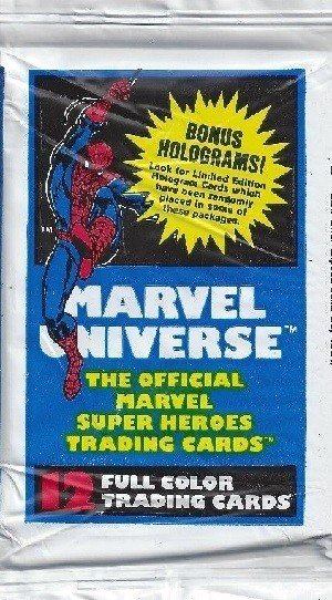 Impel Marvel Universe I   Empty Spider-Man Wrapper