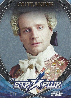 Cryptozoic Outlander Season 2 Black Cz Str Pwr Card S04 Charles Stuart