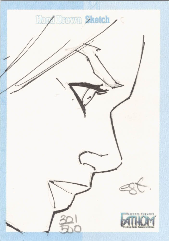 Dynamic Forces Fathom Sketch Card  Talent Caldwell (500)