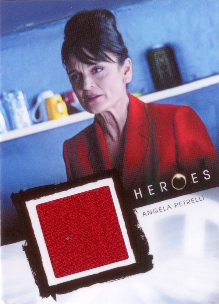Rittenhouse Archives Heroes Archives Relic Card  Angela Petrelli